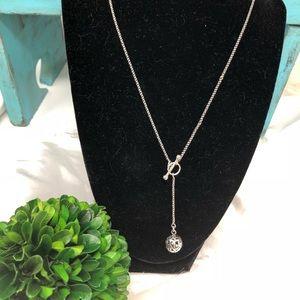 Silpada Simple Delight Filigree Lariat  Necklace
